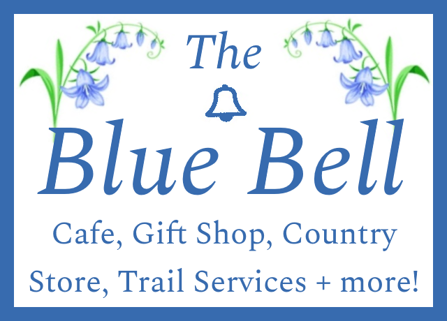 Blue Bell Country Store & Cafe in Story Arkansas for trail services, food, snacks and RV parking