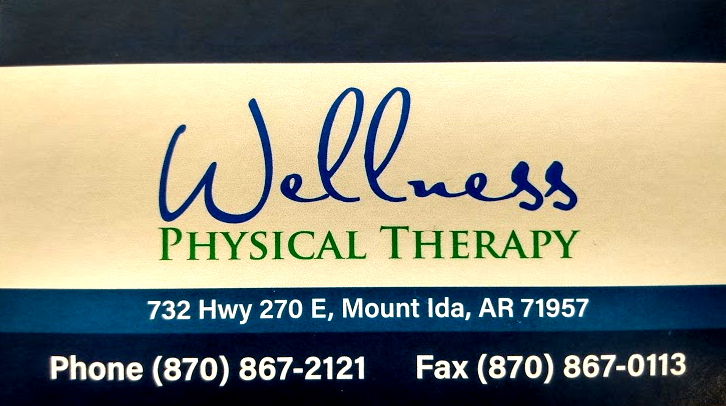 Wellness Physical Therapy Mount Ida Arkansas